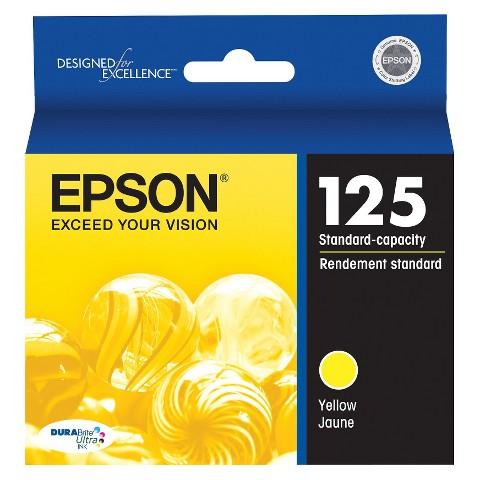 Epson T125420 Printer Ink Cartridge - Yellow
