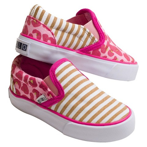 Toddler Girl's Xolo Toby Slip On - Cheetah Multicolor
