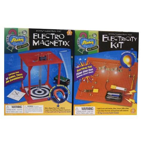 Alex Brands Scientific Explorer 03004 Electro-Magnetix/Electricity Kit Combo Pack