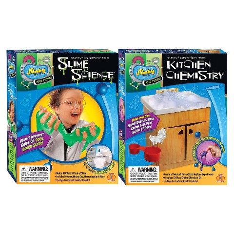 Alex Brands Scientific Explorer 03002 Slime Science/Kitchen Chemistry Combo Pack