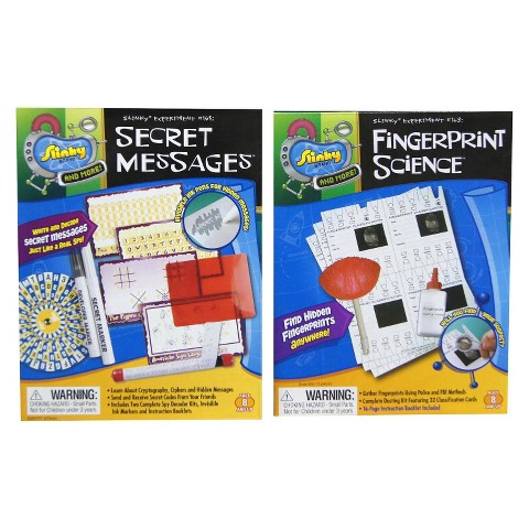 Alex Brands Scientific Explorer 03001 Fingerprint Kit/Secret Messages Combo Pack
