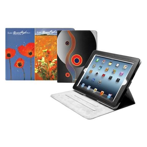 iLuv Pangborn Collection Portfolio Case for iPad 3rd Generation - Multicolored (iCC838FLO)