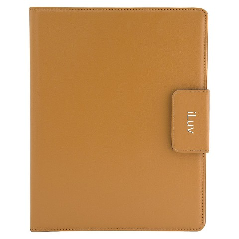 iLuv Ulster Portfolio Case for Apple iPad 3rd Generation - Tan (iCC831TAN)