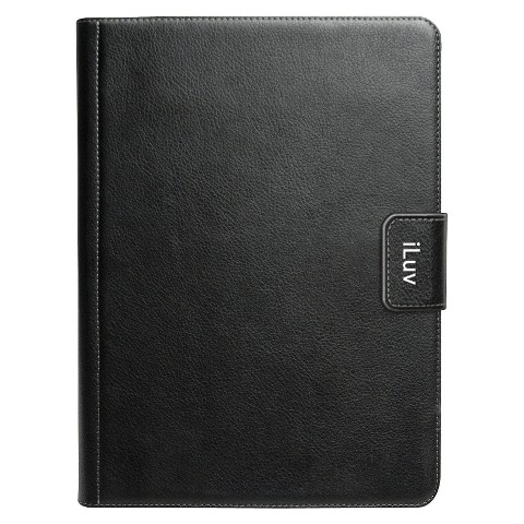 iLuv Professional Workstation Portfolio Jacket for iPad 3rd Generation - Black (iCK836BLK)