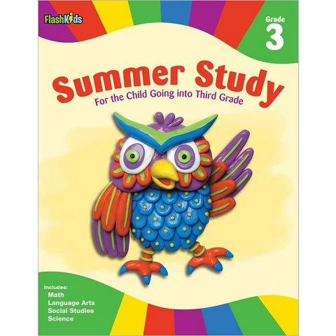 Summer Study: Grade 3 (Flash Kids Summer Study) by Flash Kids Editors (Paperback)