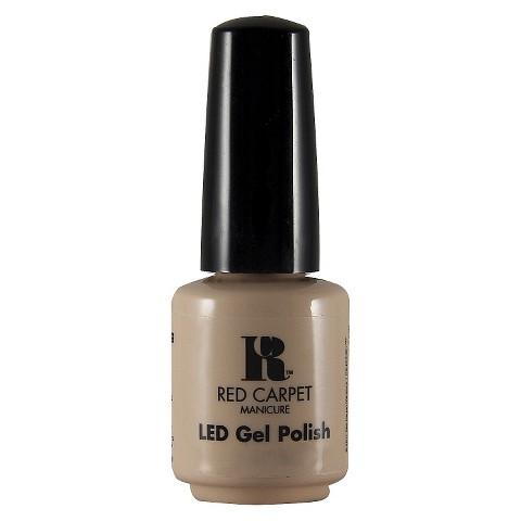 Red Carpet Manicure LED Gel Polish - Camera Shy