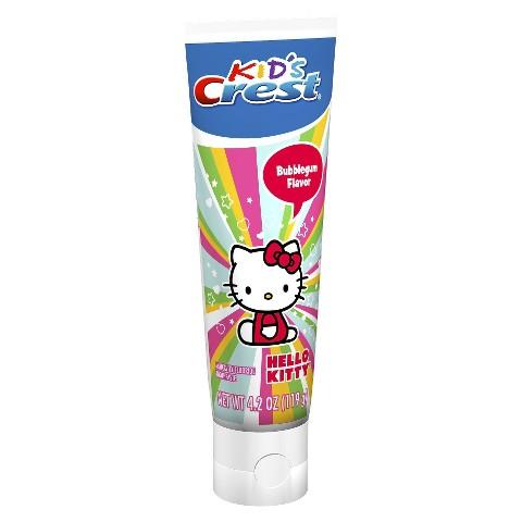 Crest Kid's Hello Kitty Toothpaste - 4.2 oz
