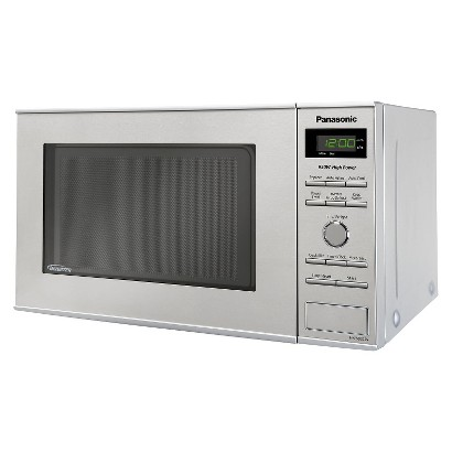 Panasonic 0.8 Cu.Ft. Stainless Steel Counter Microwave Oven, NN-SD372S