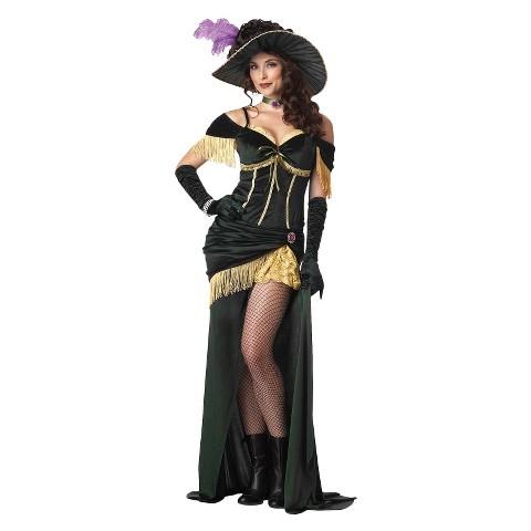 Women's Sassy Saloon Costume