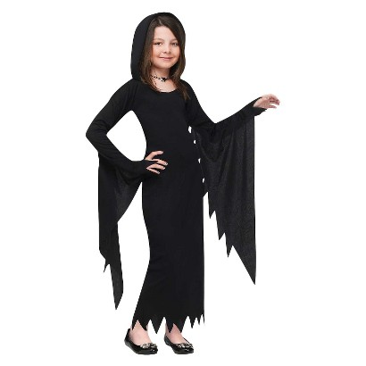 Girl's Hooded Gown Costume