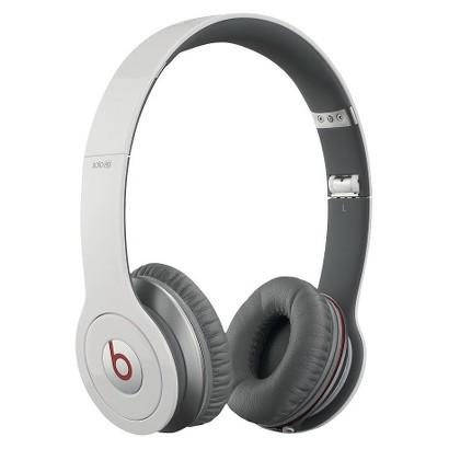 Beats by Dre Solo HD On-Ear Headphones - White (900-00012-01)