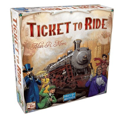 Days of Wonder Ticket To Ride Classic Strategy Board Game
