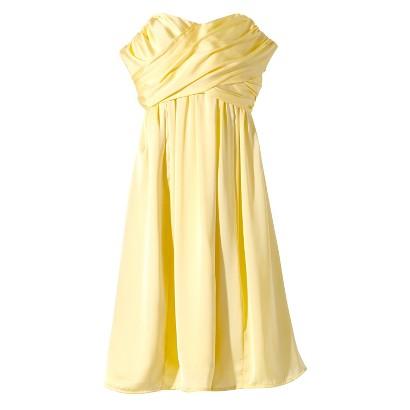 Yellow Bridesmaid Dresses Target 98