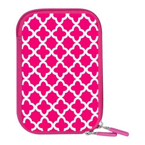 Targus Ava Camera Case - Pink/White (MB-NC2EP)