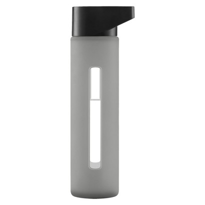 Modern Glass Water Bottle 16 oz