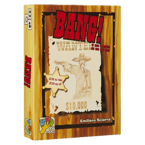 DaVinci Editrice Bang! Wild West Theme Card Game