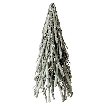 """Smith & Hawken® Twig and Pinecone Tree 15"""""""