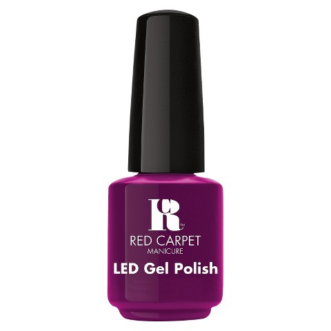 Red Carpet Manicure LED Gel Polish - Plum Up the Volume