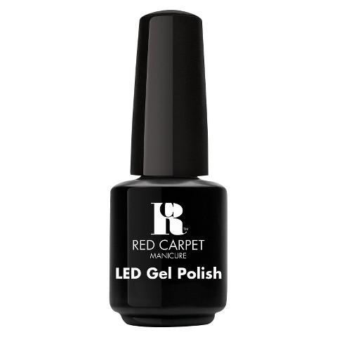 Red Carpet Manicure LED Gel Polish - Black Stretch Limo