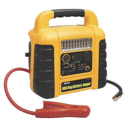 Wagan 600-amp Battery Jumper with Air Compressor