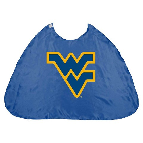 West Virginia Mountaineers Bleacher Creatures Royal Hero Cape (One Size)
