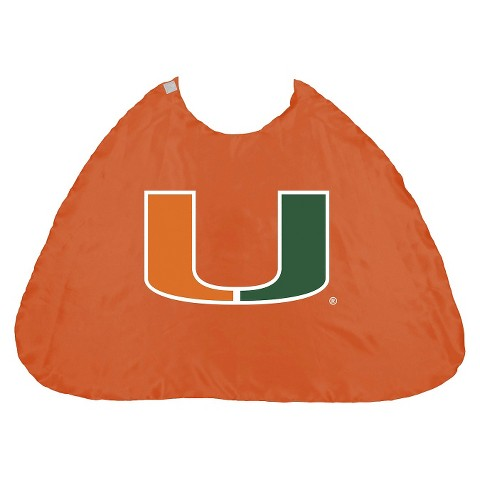 Miami Hurricanes Bleacher Creatures Hero Cape - Orange (One Size)