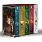 Game of Thrones 5-Copy Boxed Set by George R. R. Martin (Mass Market Paperback)