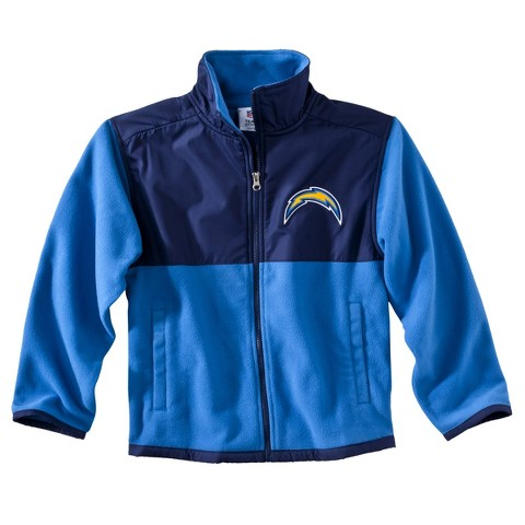 San Diego Chargers Air Force Fleece Zip