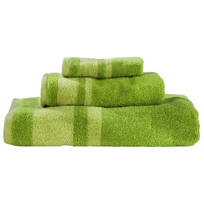 Room Essentials™ Stripe 3-pc. Towel Set - Green
