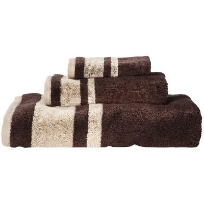 Room Essentials™ Stripe 3-pc. Towel Set - Brown