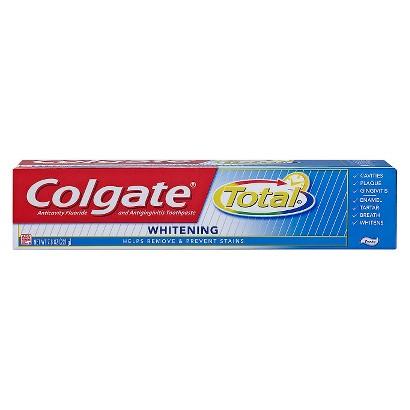 Colgate Total Whitening Toothpaste 7.8oz