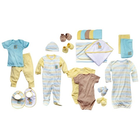 Luvable Friends™ Newborn 24 Piece Gift Cube - Yellow
