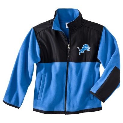 Detroit Lions Black Fleece Zip Up Jacket