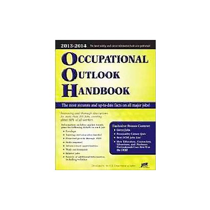 Occupational Outlook Handbook 2012-2013 by U.S. Department of Labor (Paperback)