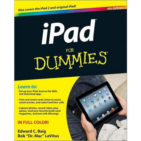 iPad For Dummies by Edward C. Baig (Paperback)