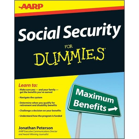 Social Security For Dummies by Jonathan Peterson (Paperback)