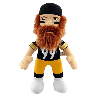 "Bleacher Creatures Steelers Keisel Plush Doll (14"")"