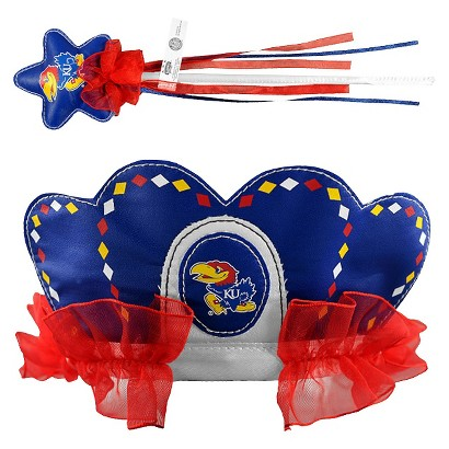 Bleacher Creatures CLC University of Kansas Princess Tiara & Wand Set