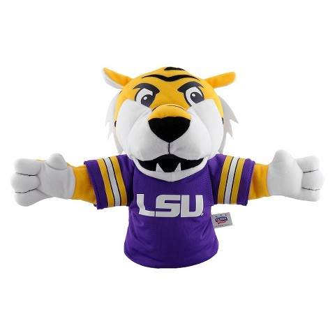 Louisiana State Tigers Bleacher Creatures Mike the Tiger Mascot Hand Puppet