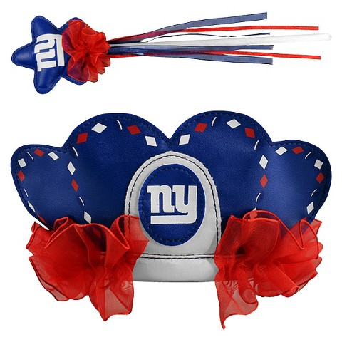 New York Giants Bleacher Creatures Princess Tiara & Wand Set