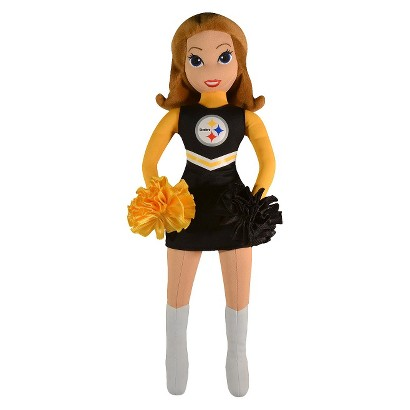 "Bleacher Creatures Steelers Cheerleader Plush Doll (16"")"