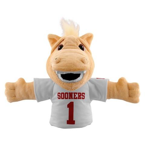 Oklahoma Sooners Bleacher Creatures Boomer  Mascot Hand Puppet