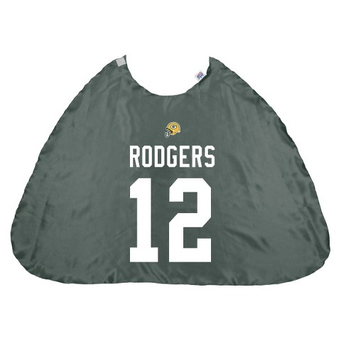 Bleacher Creatures Packers Aaron Rodgers Hero Cape - Green (One Size)