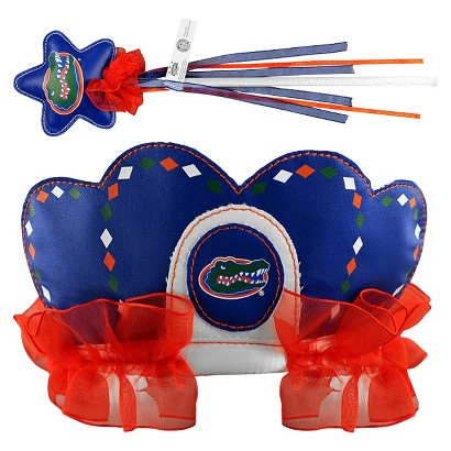 Bleacher Creatures CLC University of Florida Princess Tiara & Wand Set