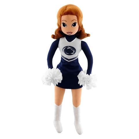 Penn State Nittany Lions Bleacher Creatures Football Cheerleader Plush Doll