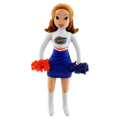 Bleacher Creatures University of Florida Football Cheerleader Plush Doll