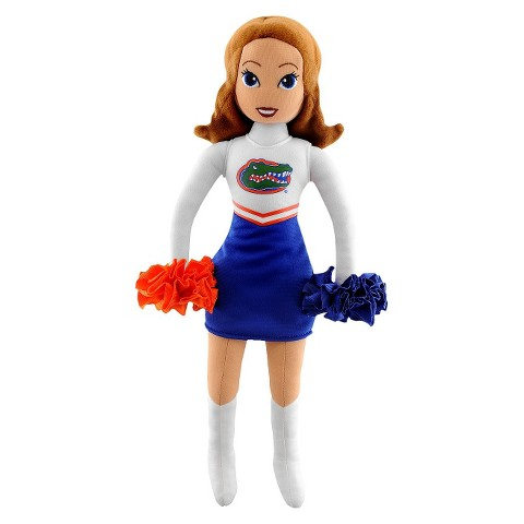 Florida Gator Bleacher Creatures Football Cheerleader Plush Doll