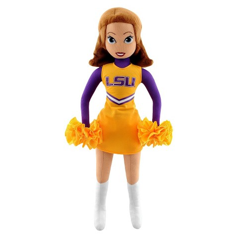 Louisiana State Tigers Bleacher Creatures Football Cheerleader Plush Doll