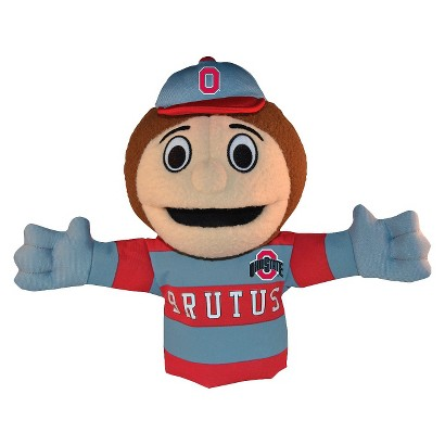 Ohio State Buckeyes Bleacher Creatures Brutus Mascot Hand Puppet