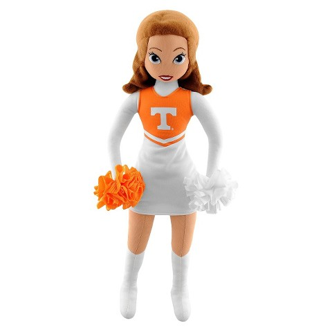 Tennessee Volunteers Bleacher Creatures Football Cheerleader Plush Doll